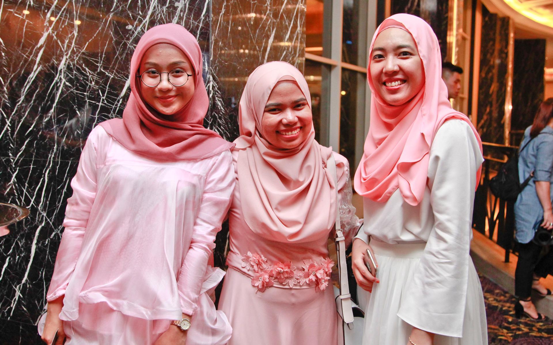 Siti Sofie, Shafiqah Shaisurddin and Hirza Tahir