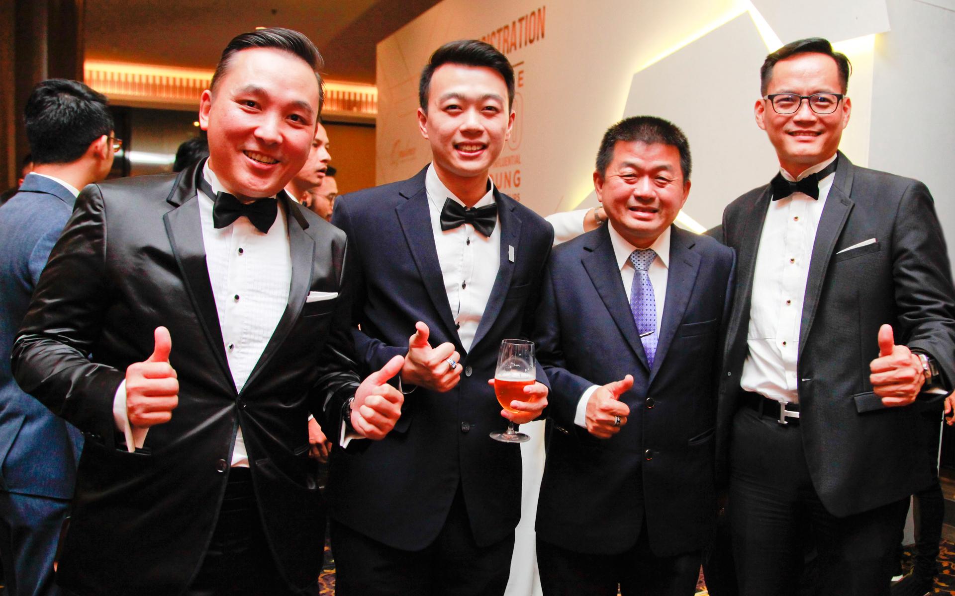 Francis Pua Siong Foo, Elvis Thoo, Dato' Thoo and Joe Yew