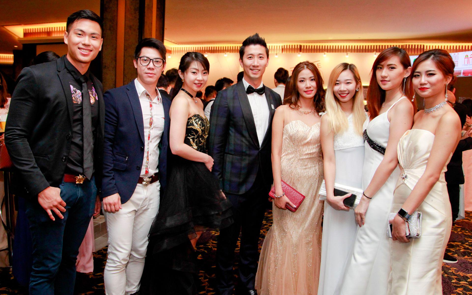 Adriane Ong, Nicholas Yap, Kit WL, Gary Chua, Yen Ong, Weedy Gan, Shiok Leng and Eunice Yuan