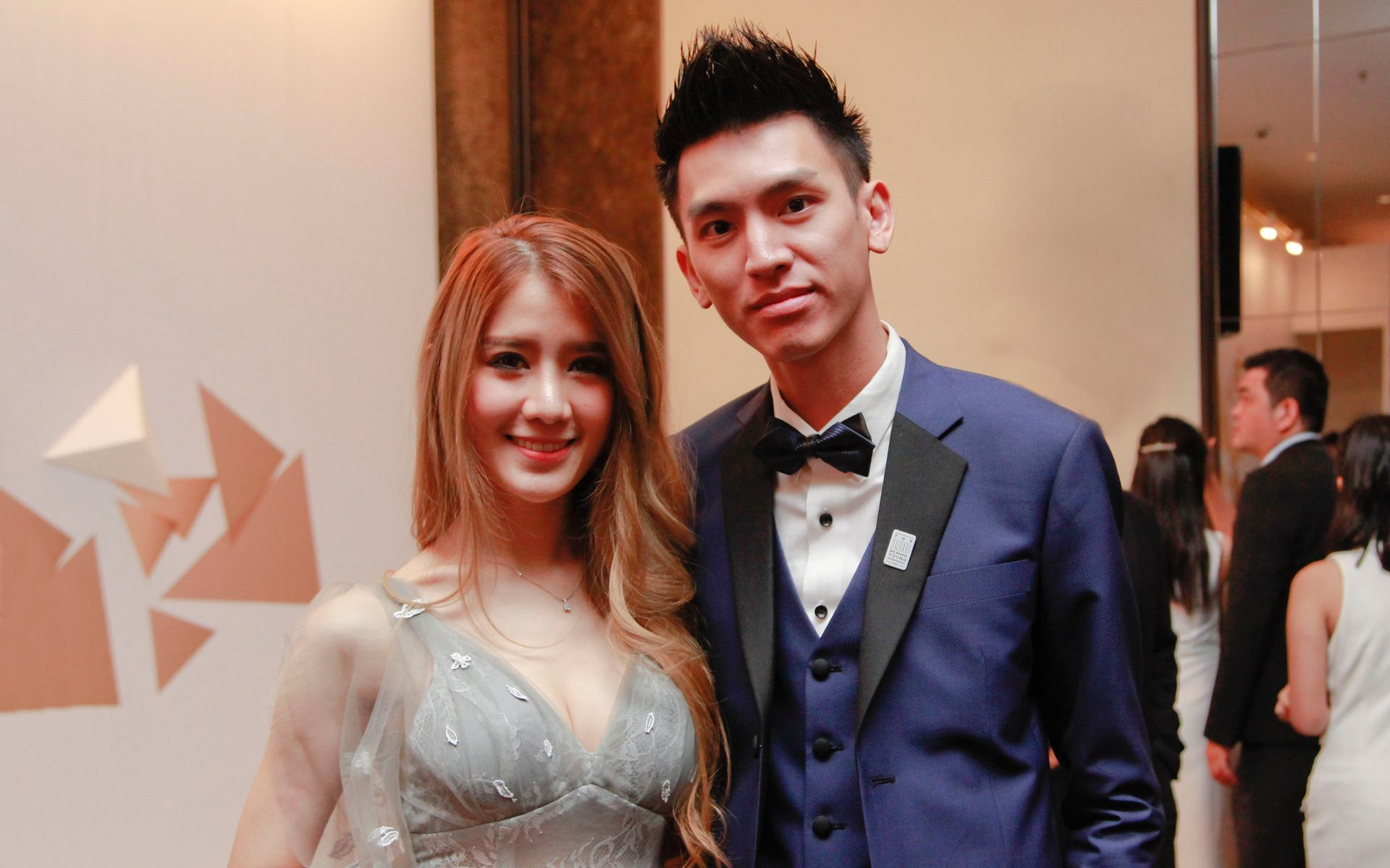 Cherry Quah and Vincent Nee