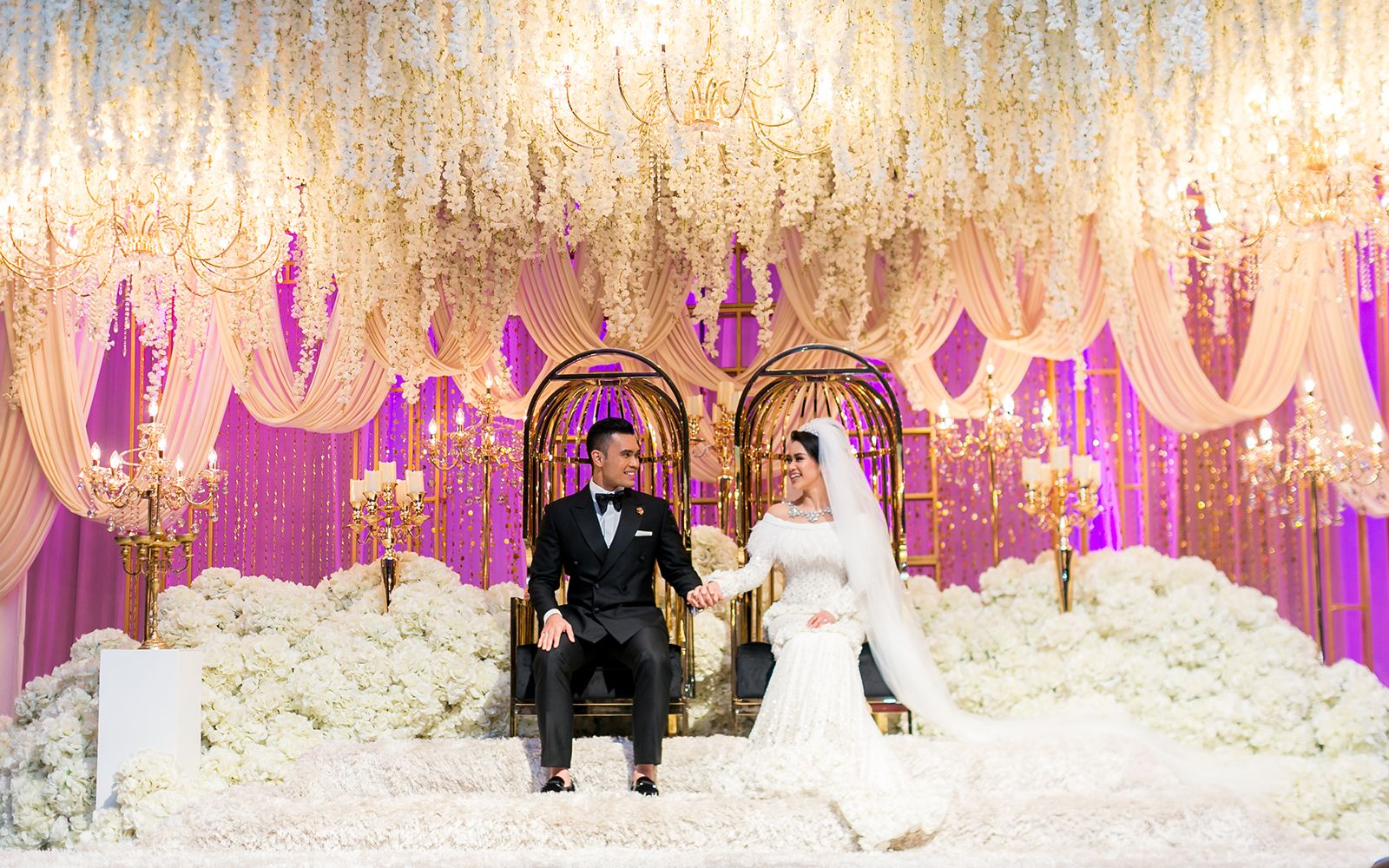 Exclusive: The 4 Fairytale Wedding Ceremonies Of Dr Fazliana Abd ...