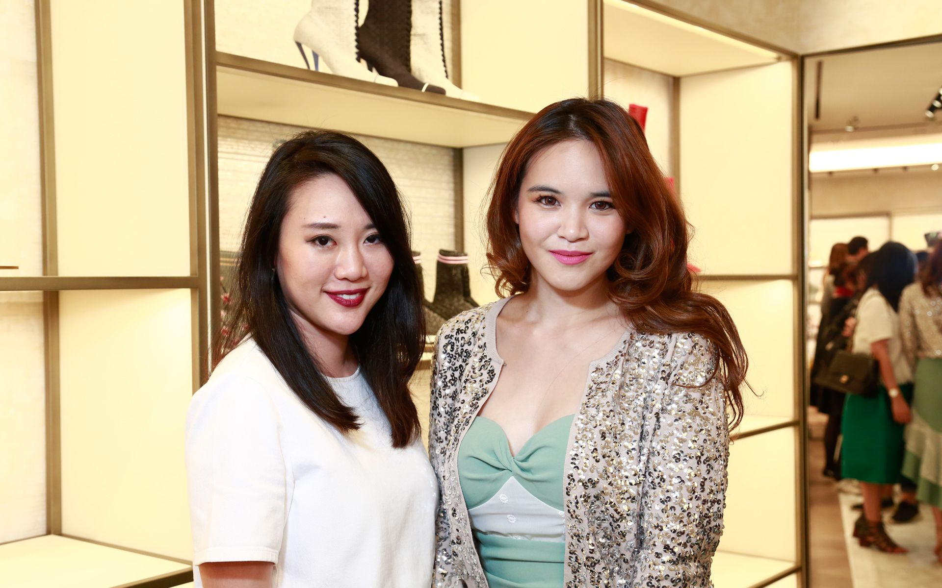 Shuen Chiu and Melissa Sin