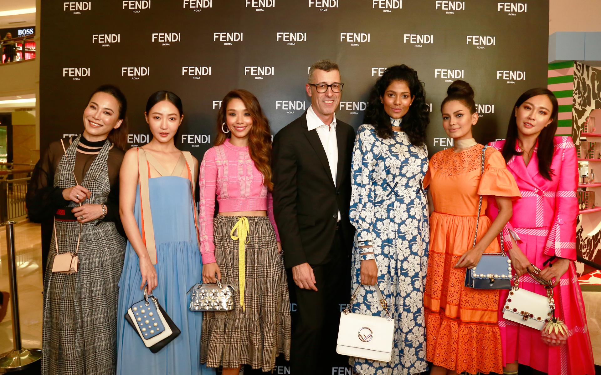 Ong Ai Leng, Jojo Goh, Marion Caunter, Andrea Crippa, Thanuja Ananthan, Fyza Kadir and Debbie Goh