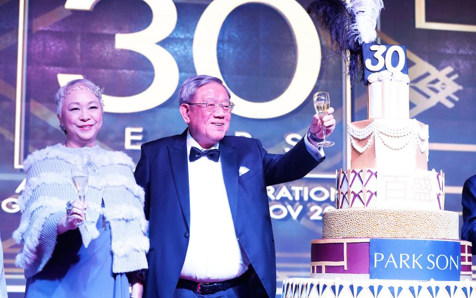 Puan Sri Chelsia Cheng and Tan Sri William Cheng