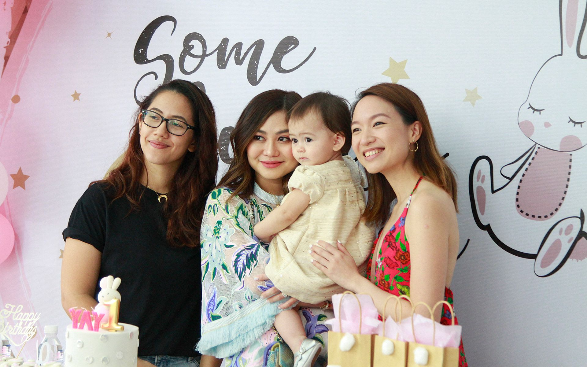 Simone Camy, Jenn Low, Olivia Hua Elliott and Sheryl Oon