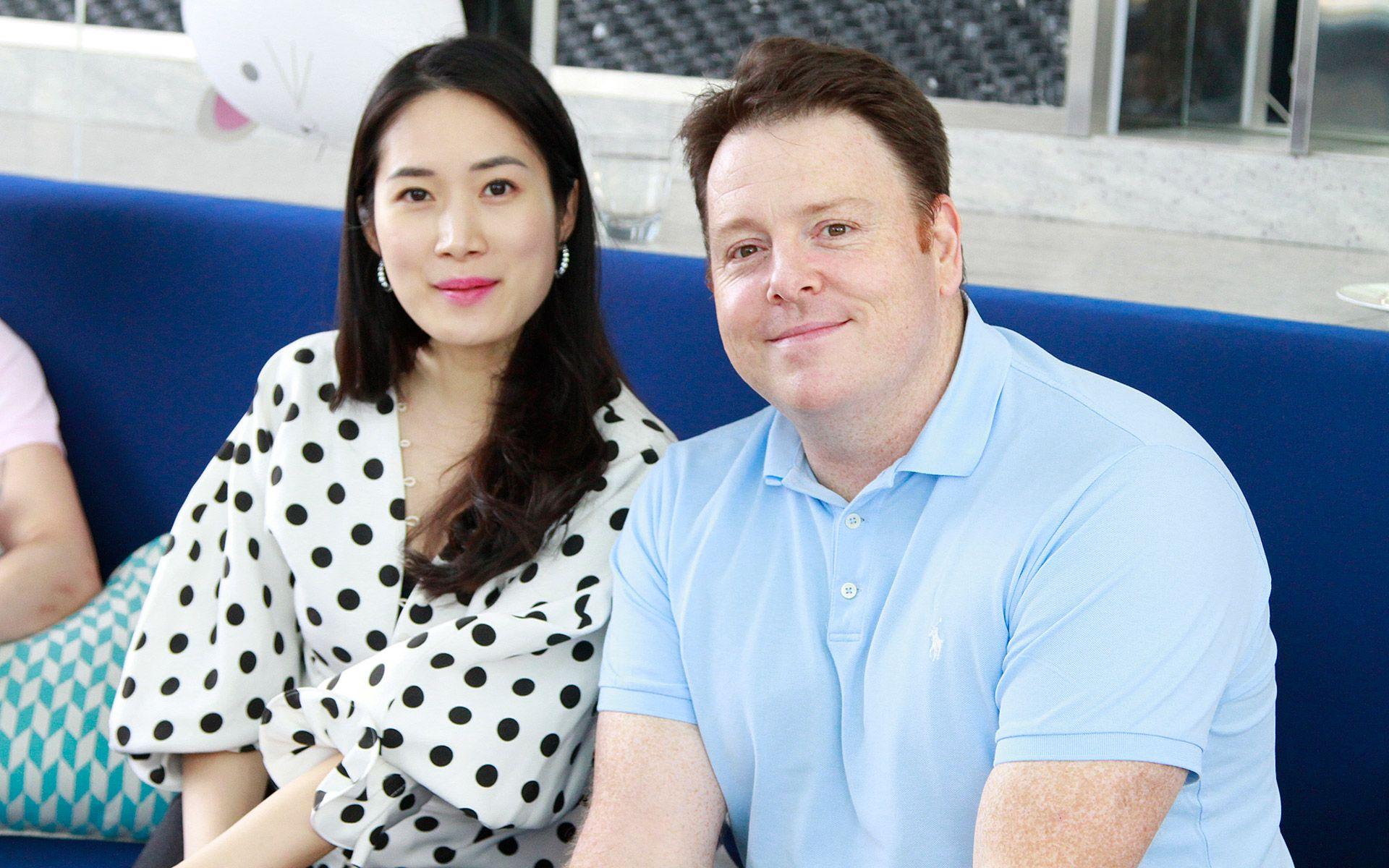 Margie Yap and Luke Elliott