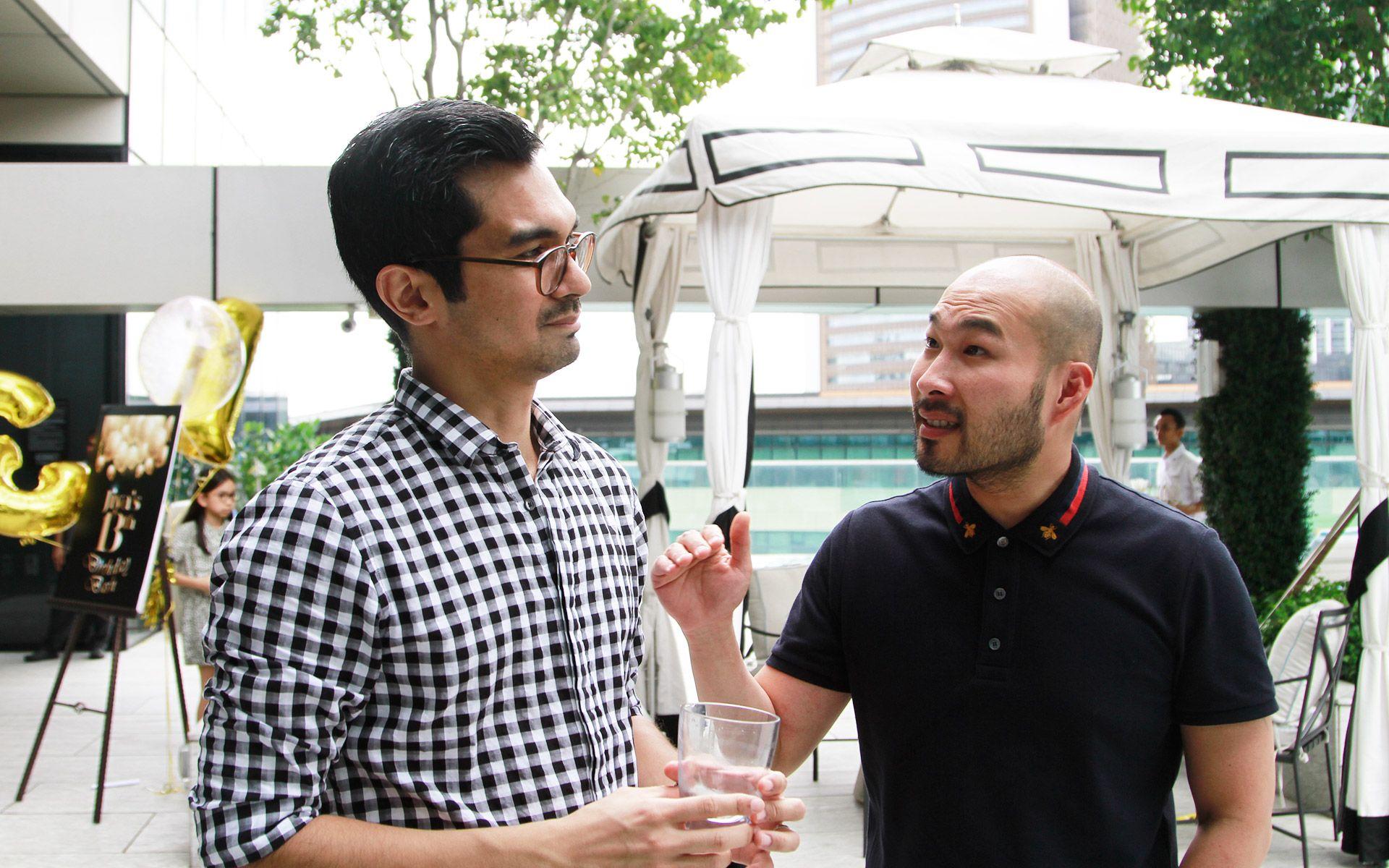 Yassif Mustafa and Marcus Mikhail Low