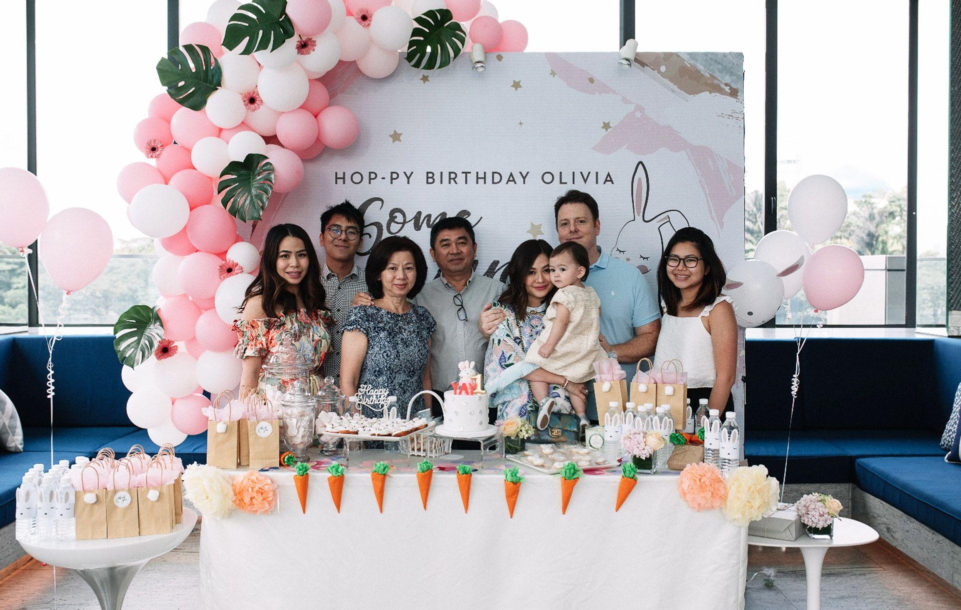 Kim Low, Jason Low, Low Seng Kern, Tan Siew Hua, Jenn Low, Olivia Hua Elliott, Luke Elliott and Joanne Low