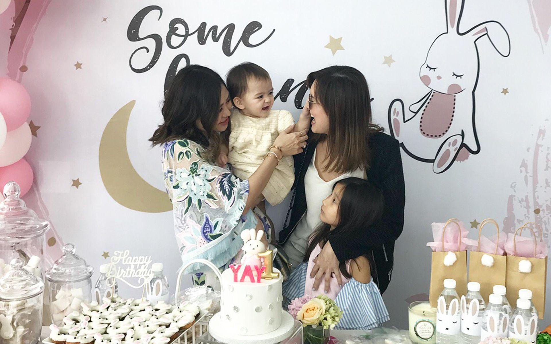 Jenn Low, Olivia Hua Elliott, Danielle Graham and Sophia Khoo
