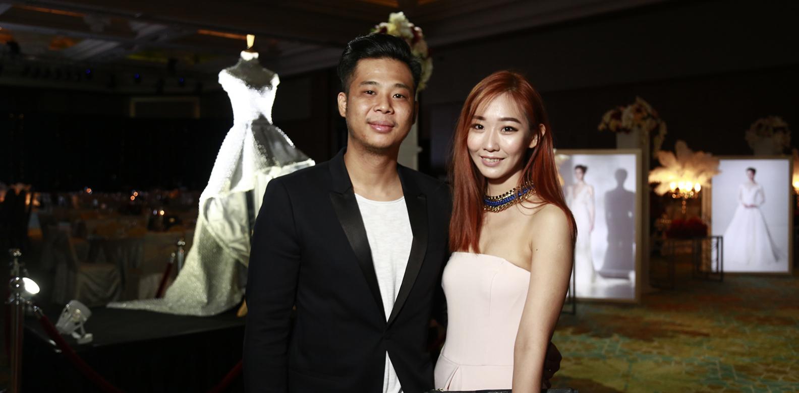 CK Lew and Amanda Tan