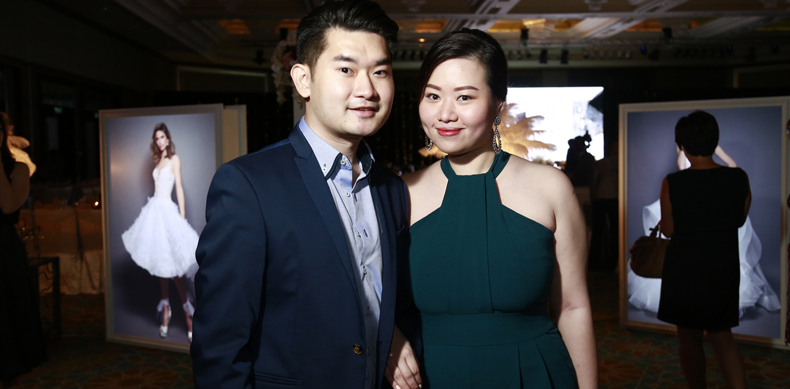 Ken Chin and Adrina Choy