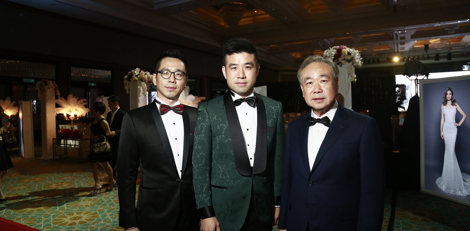 Melvin Chau, Brandon Chau and TC Chau