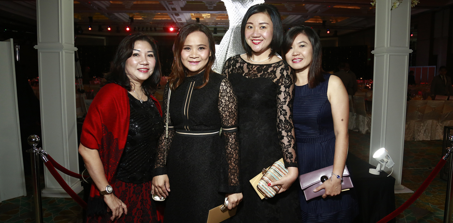 Stephanie Khor, Jane Chuang, Lee Pei Wan and Michelle Phua