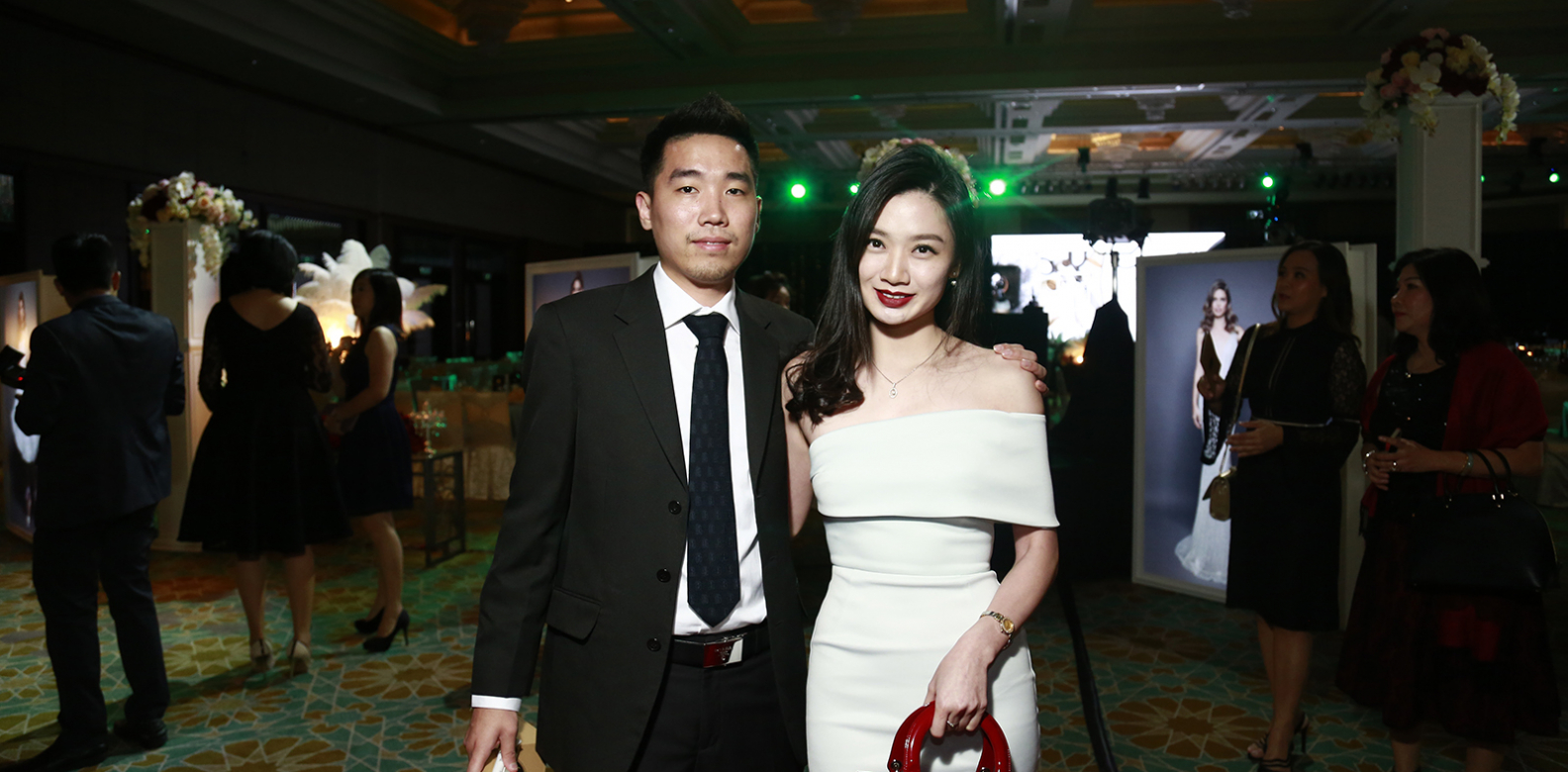 Kok Liang Jin and Beatrice Kong