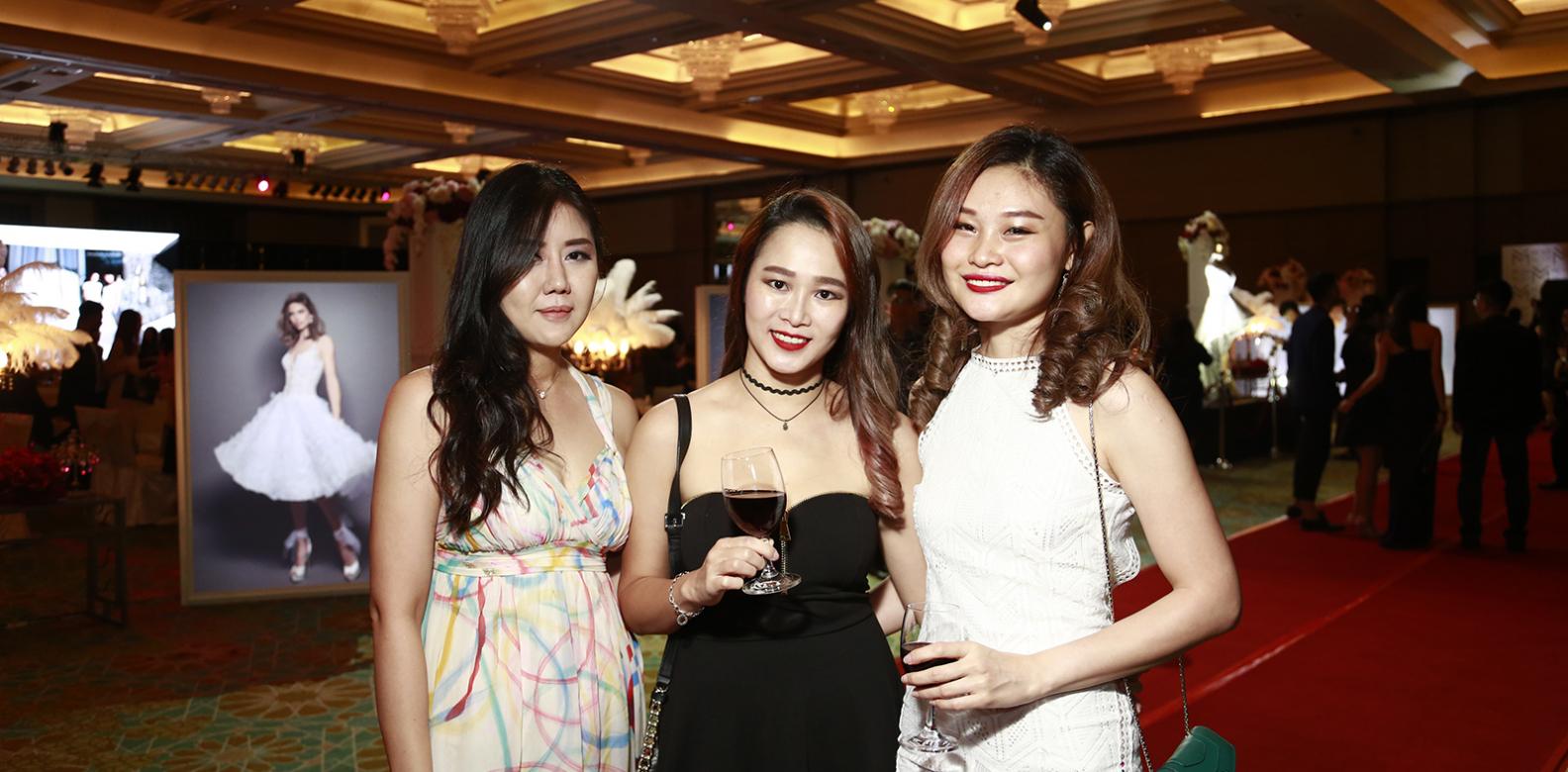 Jerene Lim, Claries Chan, Hazel Leow