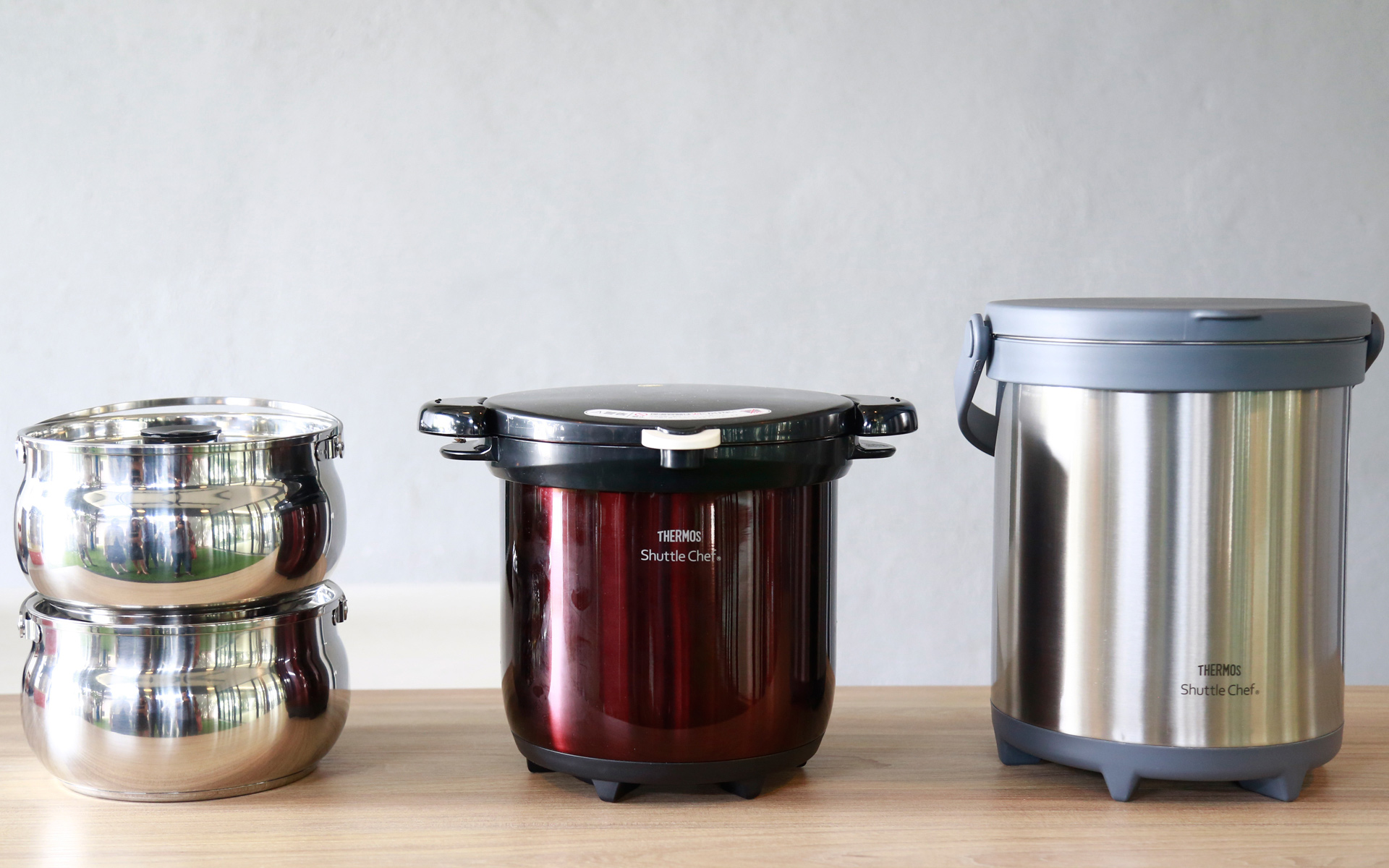 The Thermos Shuttle Chef series which proves to be great kitchen helpers