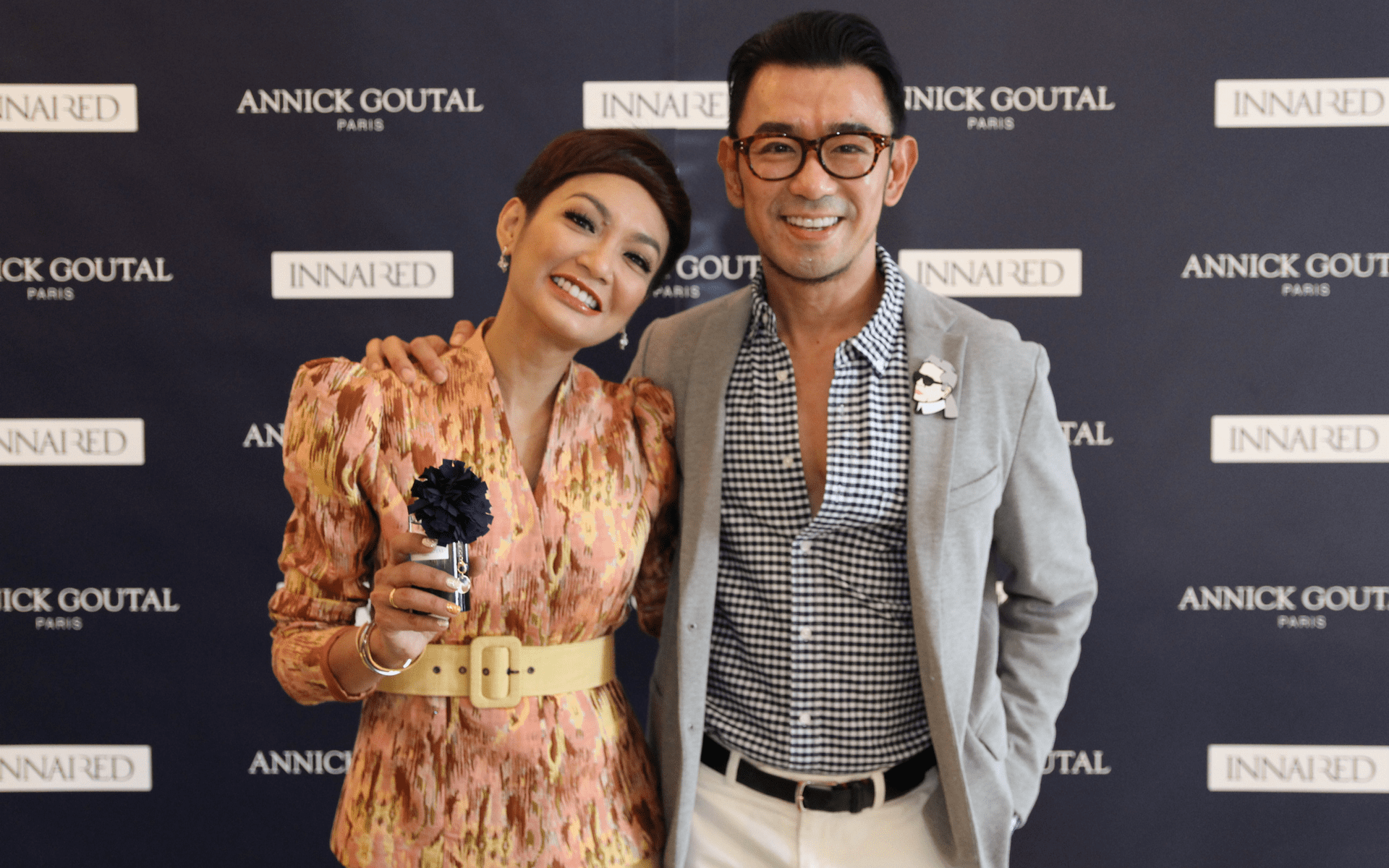 Atilia Haron and Ken Lim