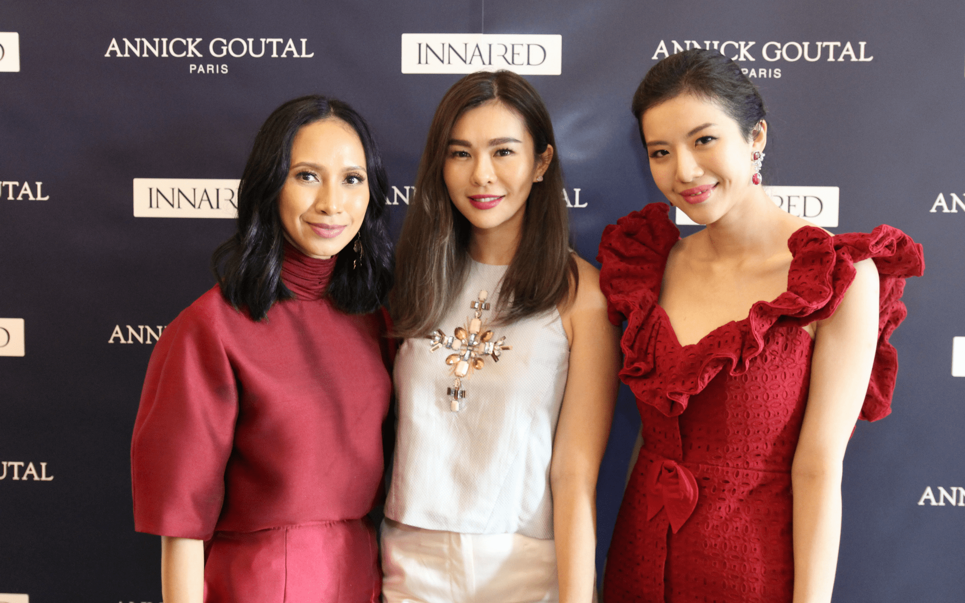 Izrin Ismail, Datin Dian Lee and Su Quinn Toh