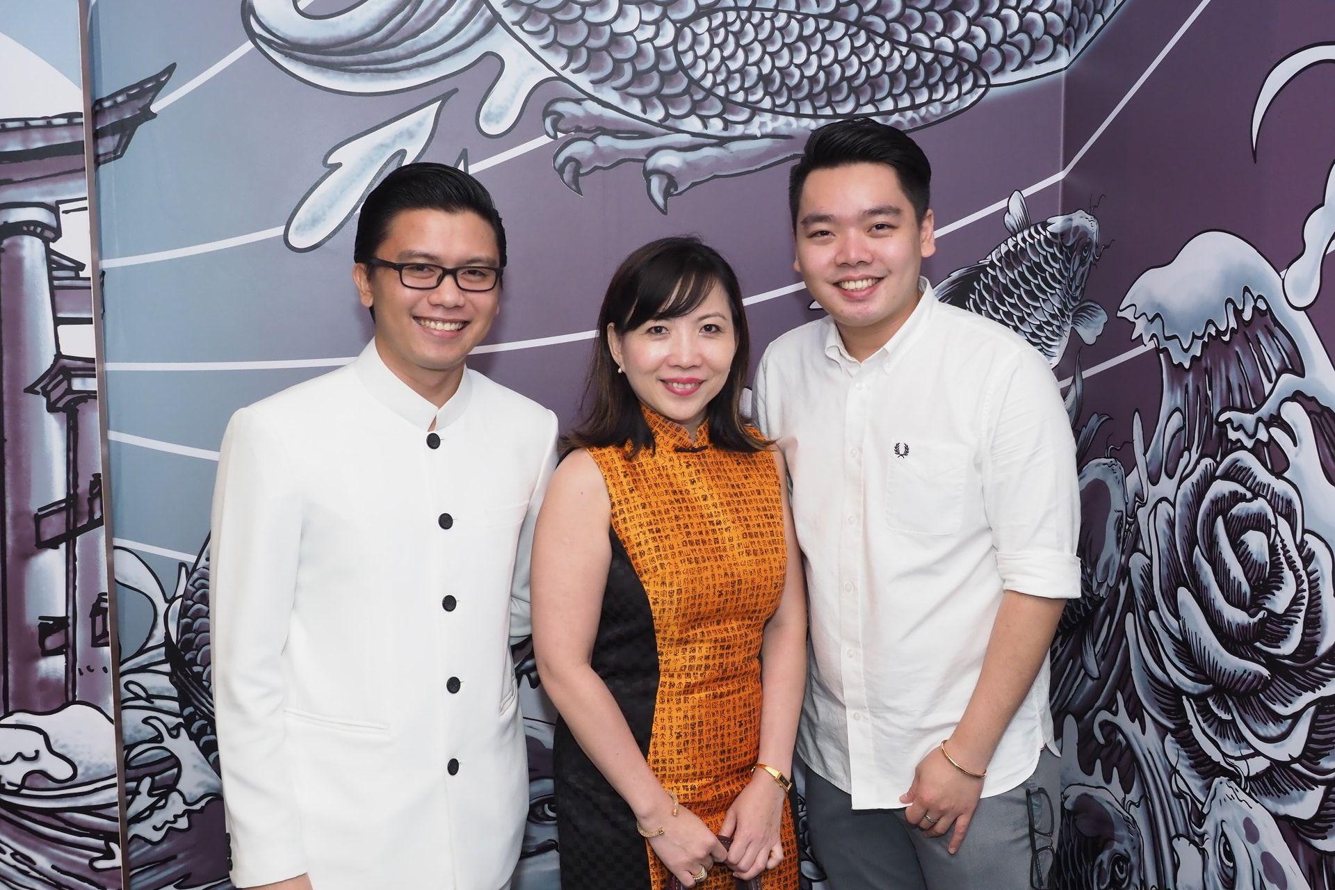 Osmund Bernard, Kung Suan Ai and Tan Wooi Chye