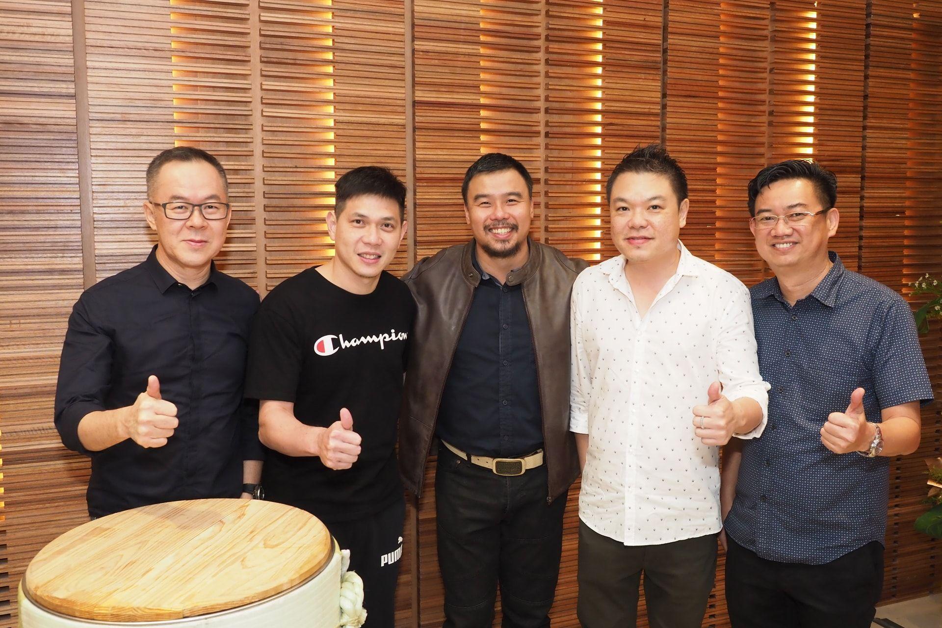 TJ, Choon Eng, Shawn Lee, Keny Yong and Melvin See