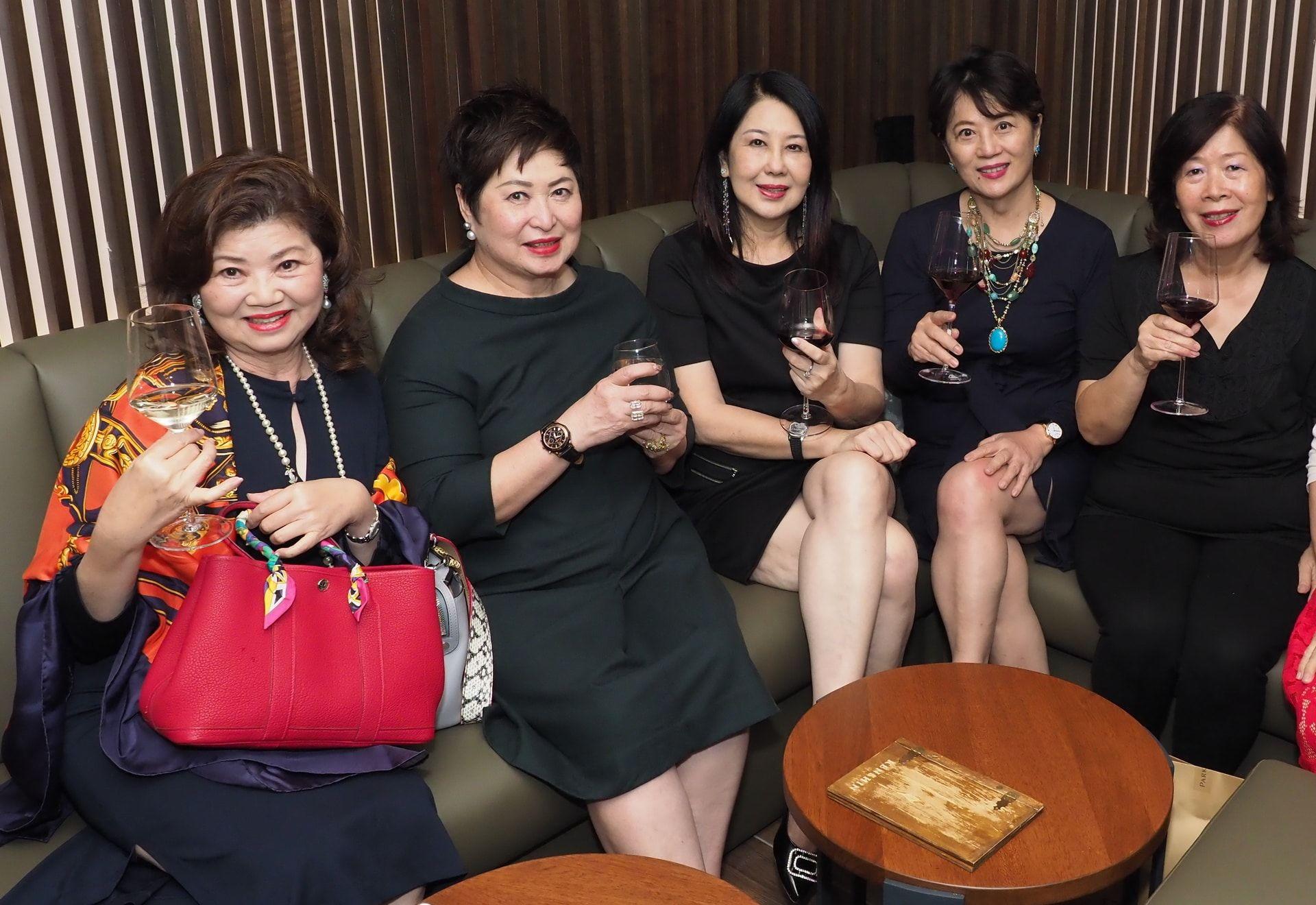 Datin Jenny Yap, Irene Yong, Datin Margaret Lim, Shao Shan and Chai Yu