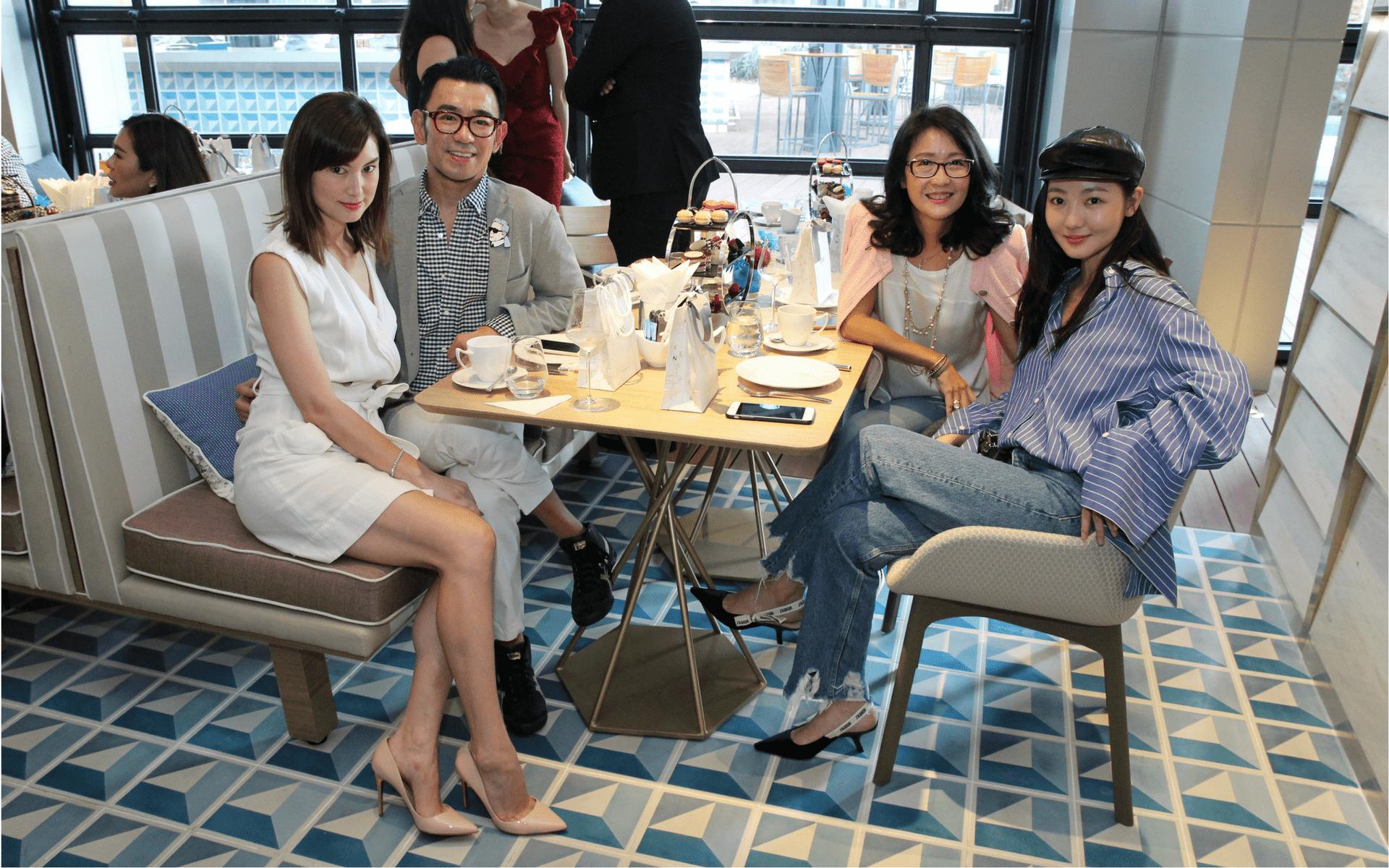Danielle Graham, Ken Lim, Angeline Au and Jojo Goh