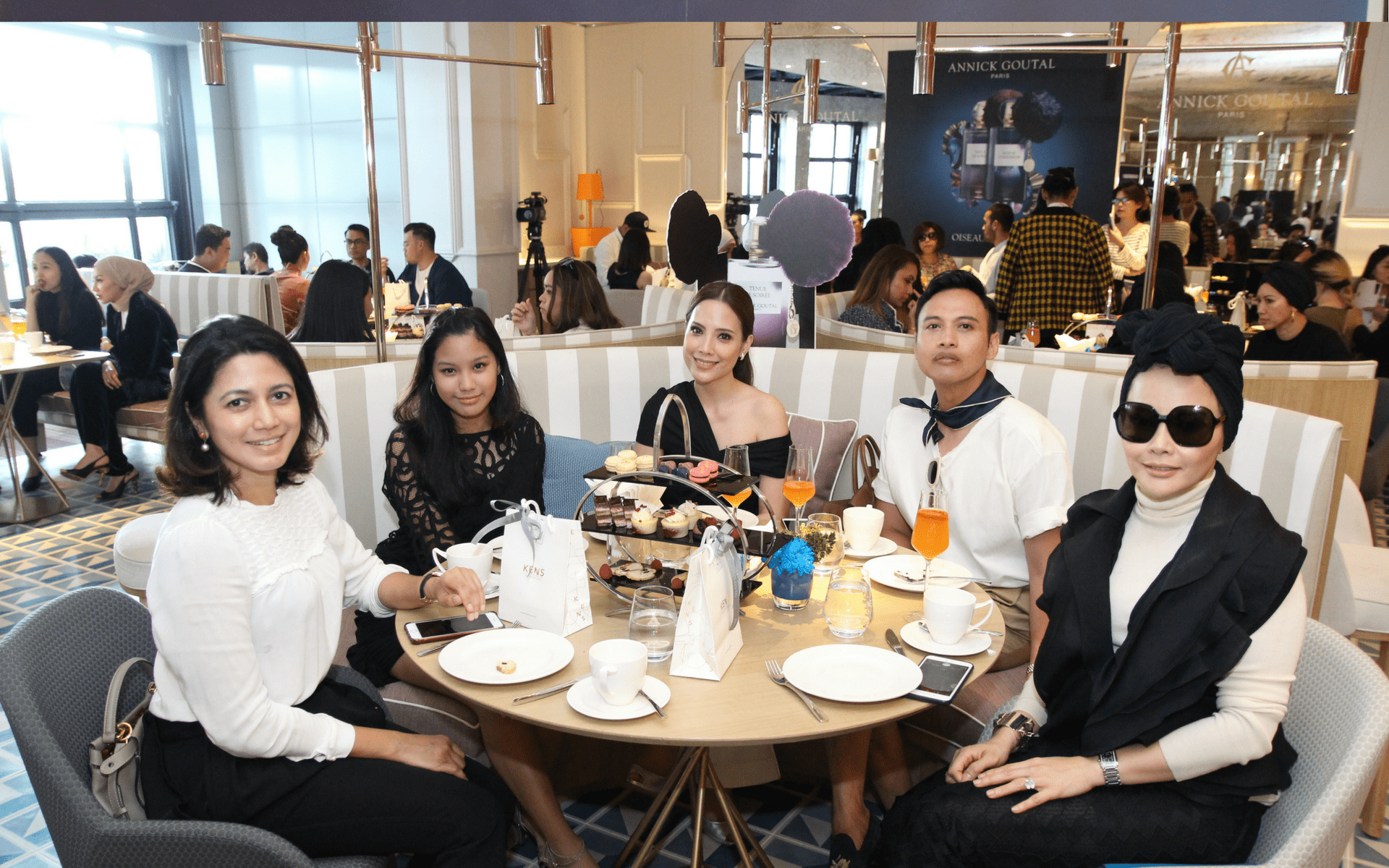 Zalifa Zakaria, Julia Ariana Hazali, Datin Nadia Mustaffa, Fadzil Selamat and Aniza Adnan