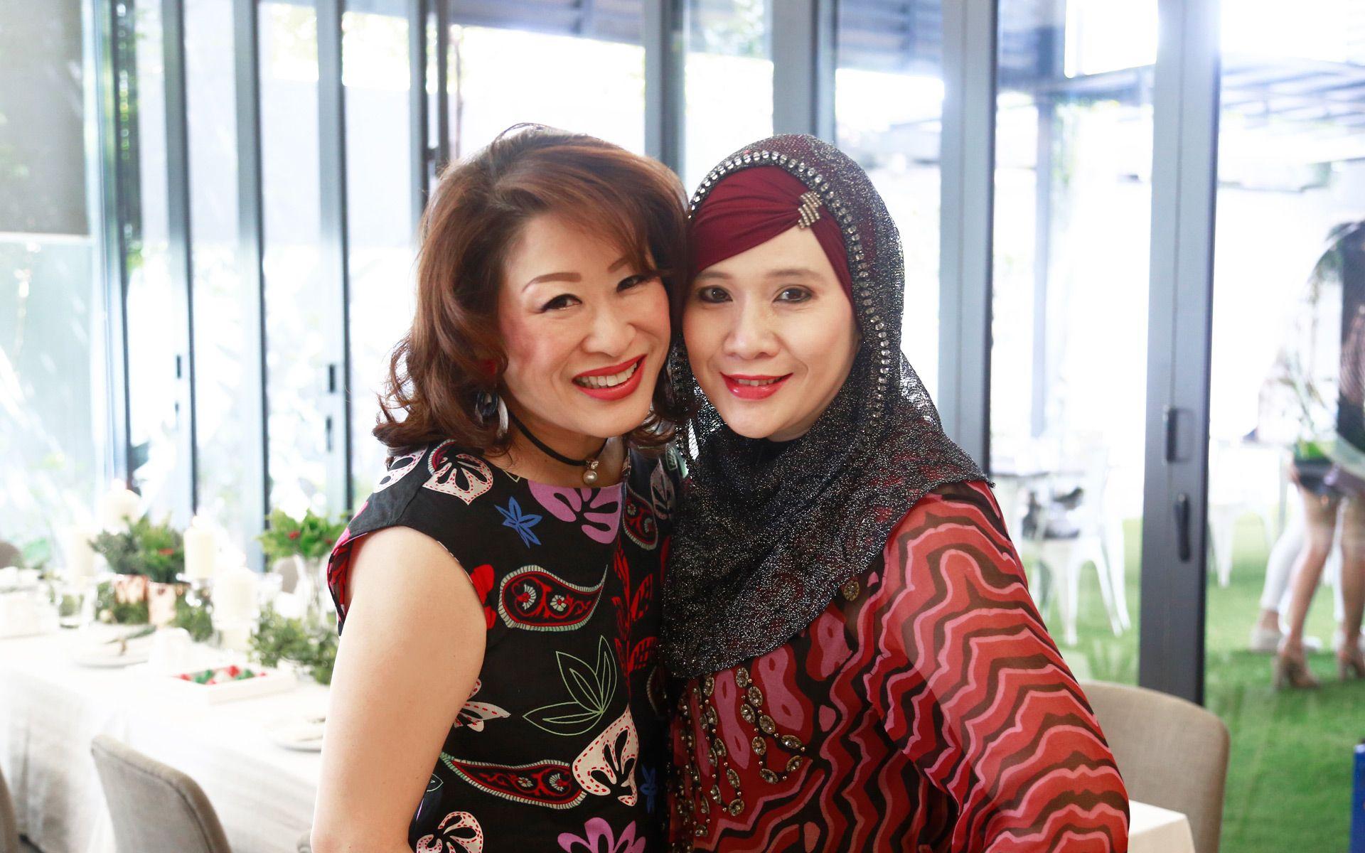 Adeline Saw and Puspayanti Mohd Asraf