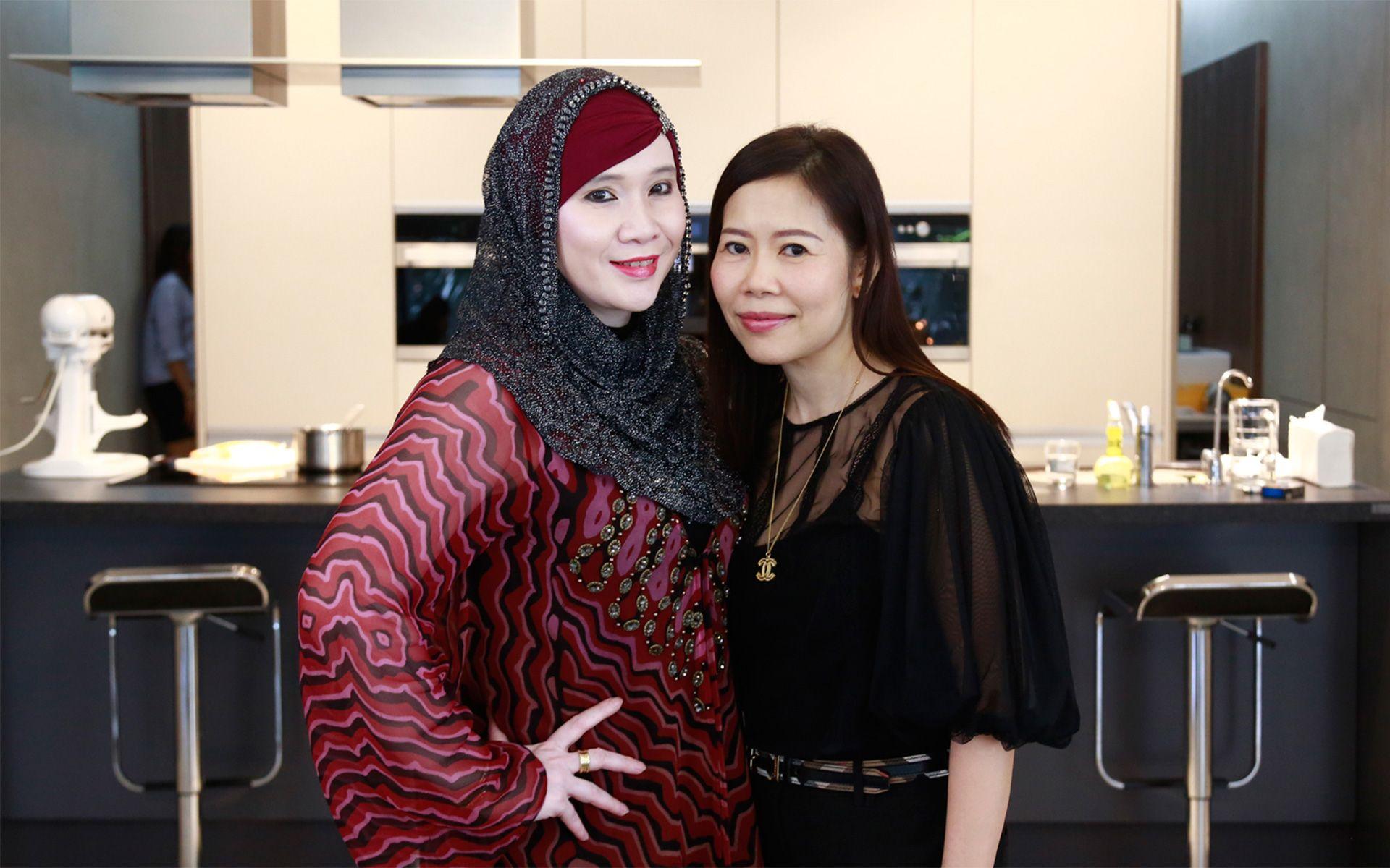 Puspayanti Mohd Asraf and Stephanie Lian