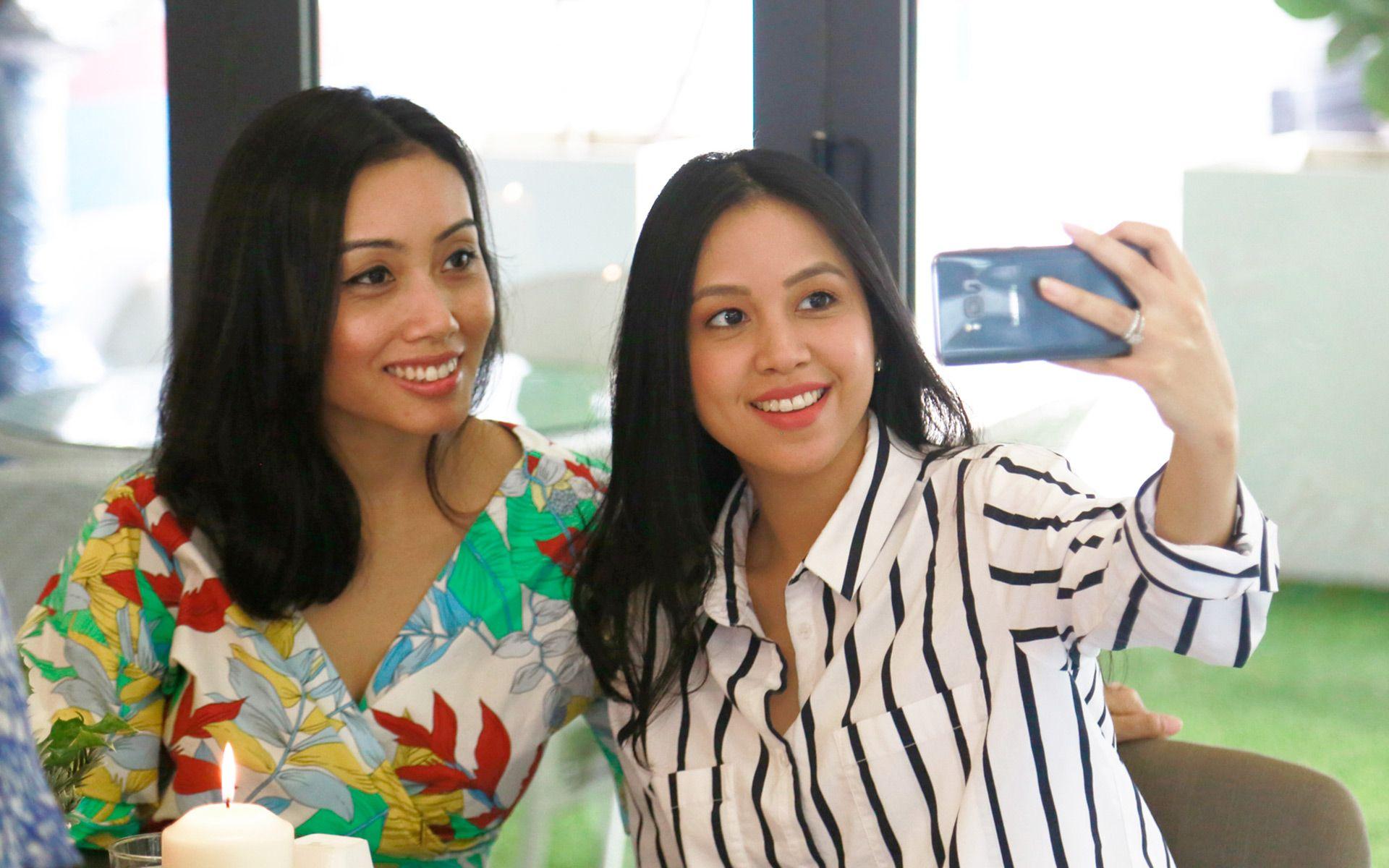 Satrina Diana and Farah Melissa