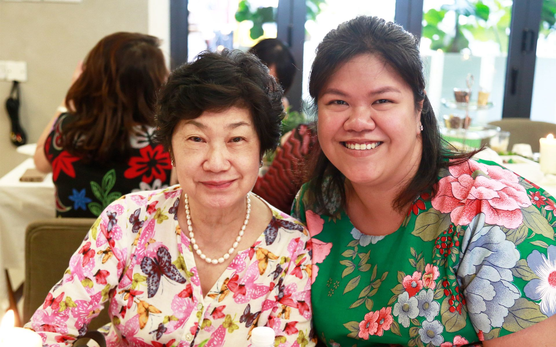 Regina Chiew and Lam Ee Von