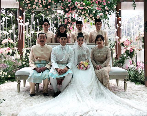 Nasarudin nasimuddin wedding bands