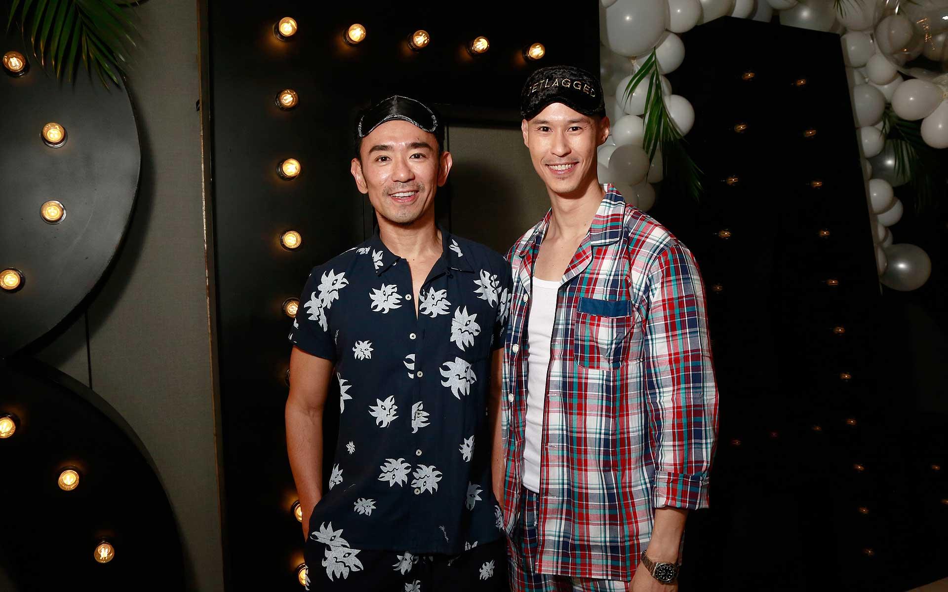 Ken Lim and Hubert Hoi
