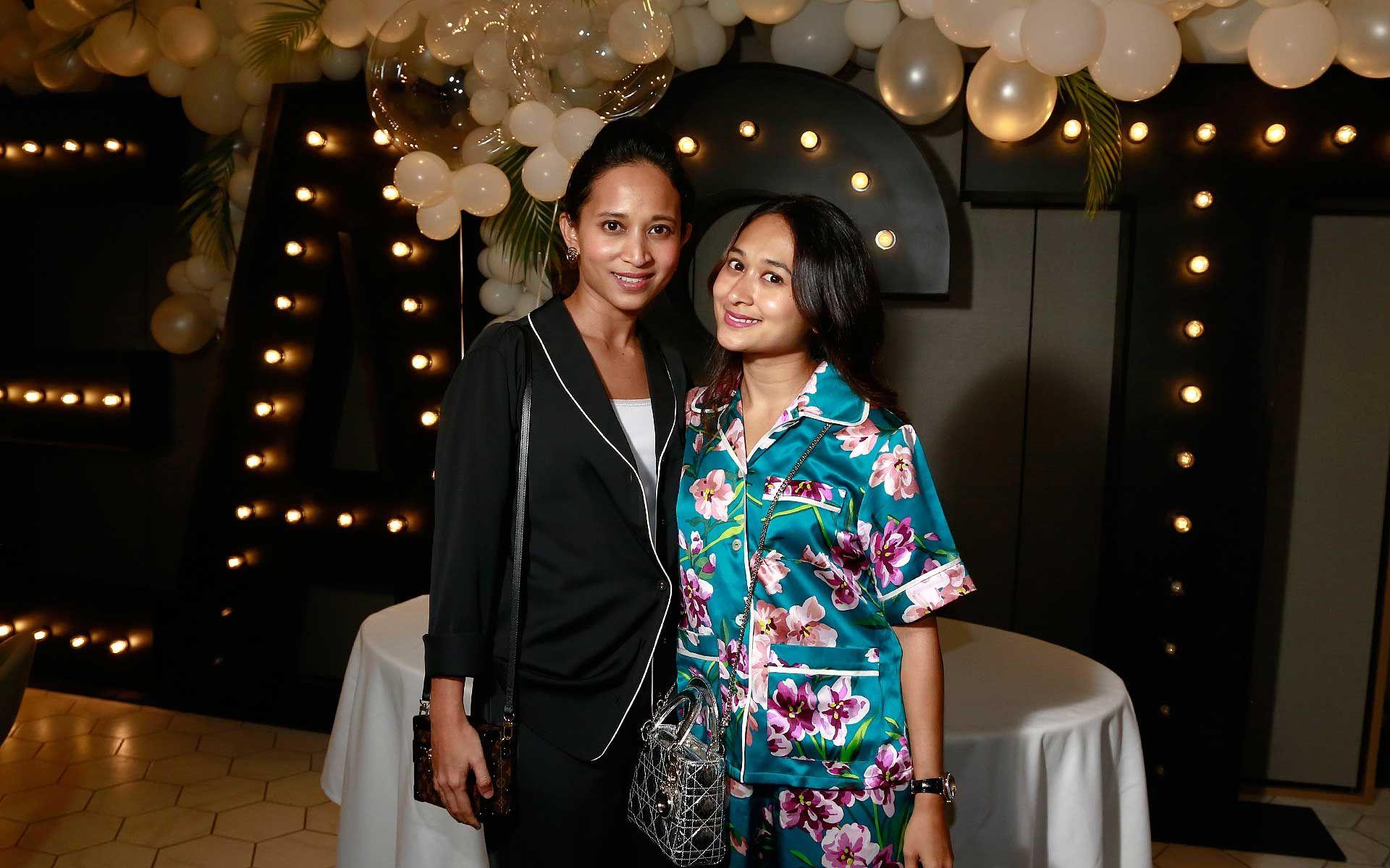 Diana Nasimuddin and Nadia Nasimuddin