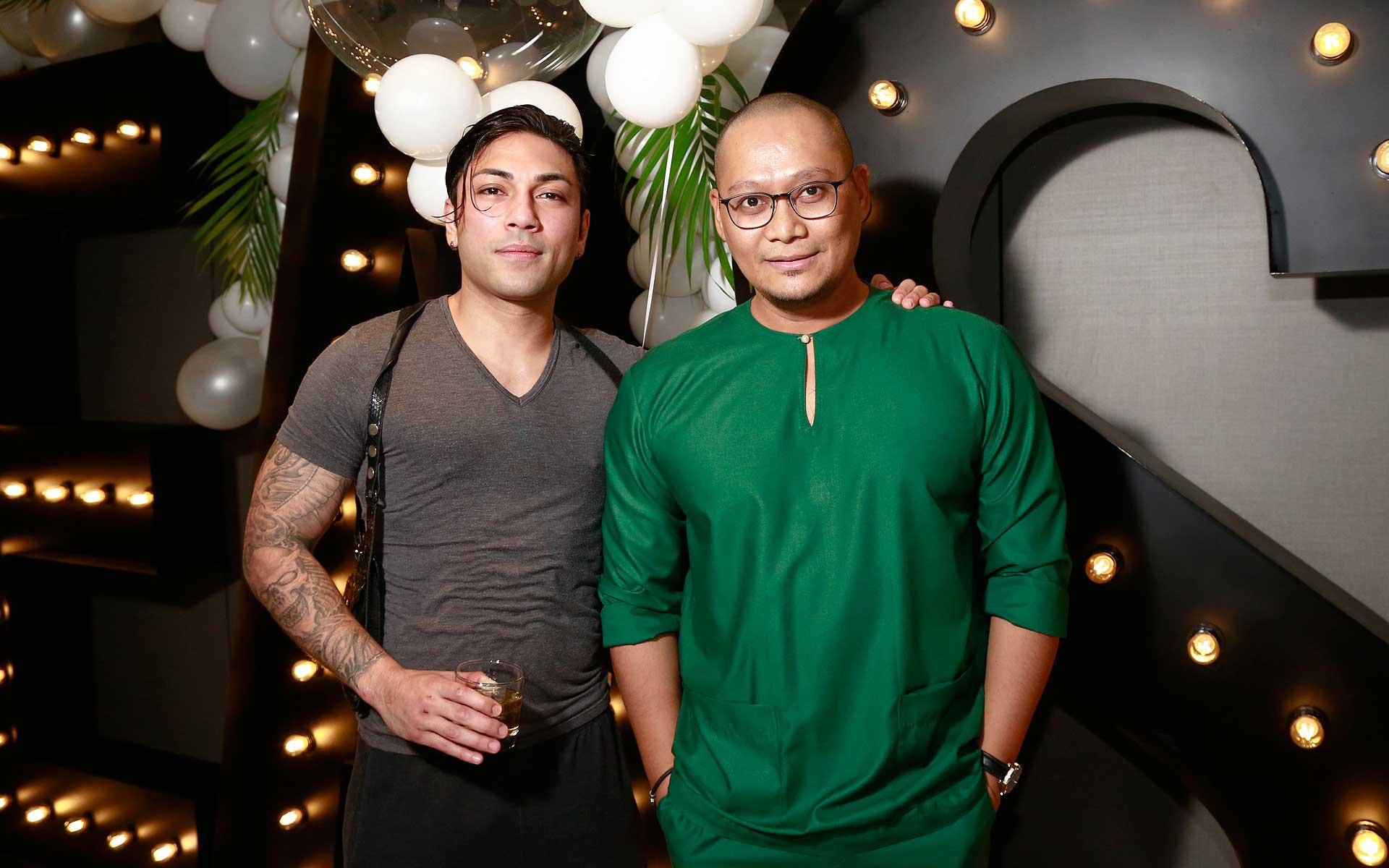 Raz Gabriel Sho and Dato' Shahrin Zahari
