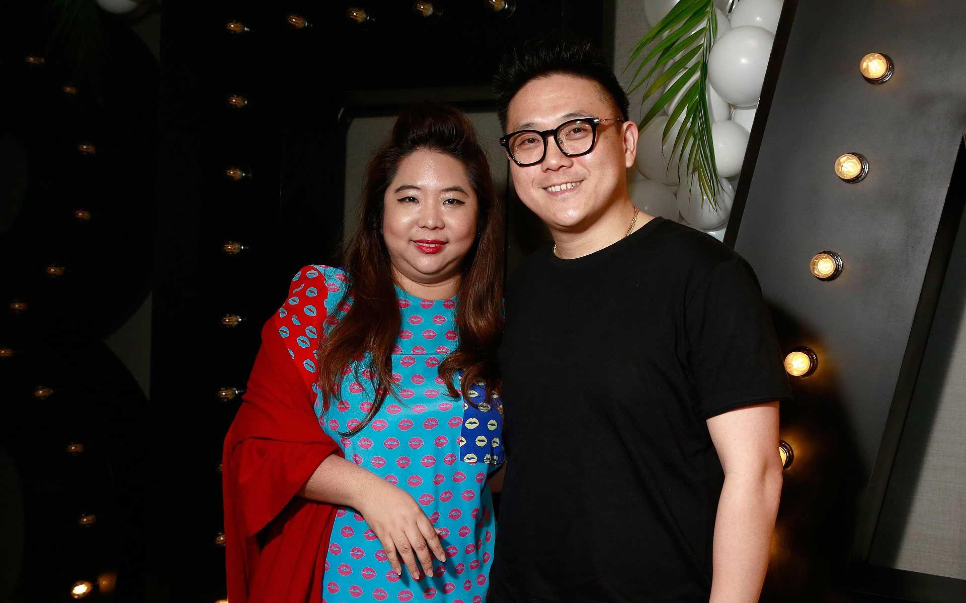 Yap Ai Leen and Foo Ken Vin