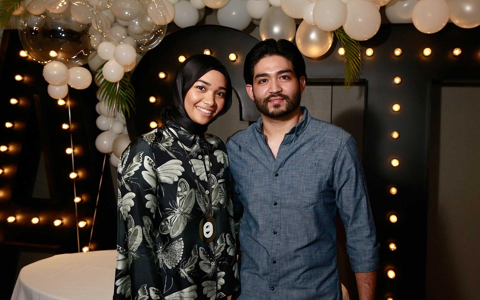 Alyssa Hisham and Muhammad Anas Zawawi