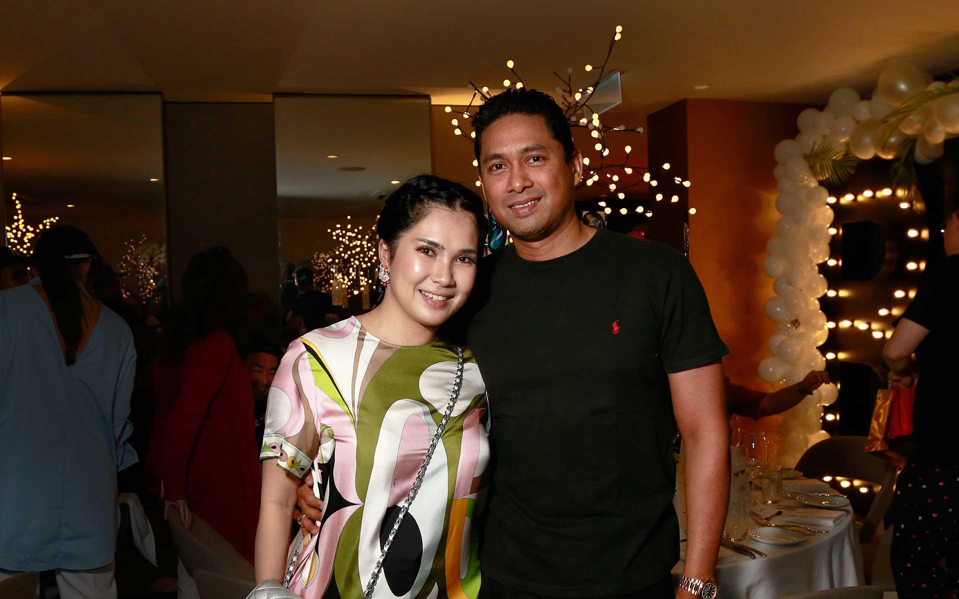 Angela Karto and Erwin Azizi