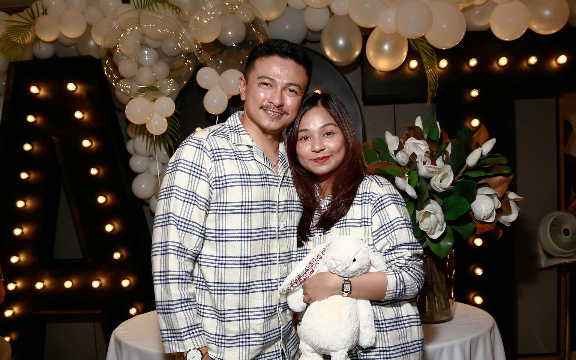 Dato' Jovian Mandagie and Datin Nina Sabrina Ismail Sabri