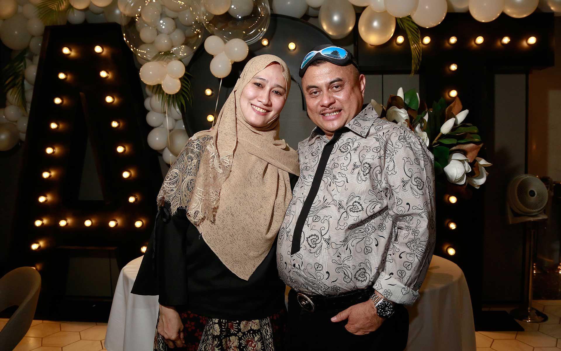 Datin Seri Ila Anhar and Datuk Seri Chairul Anhar