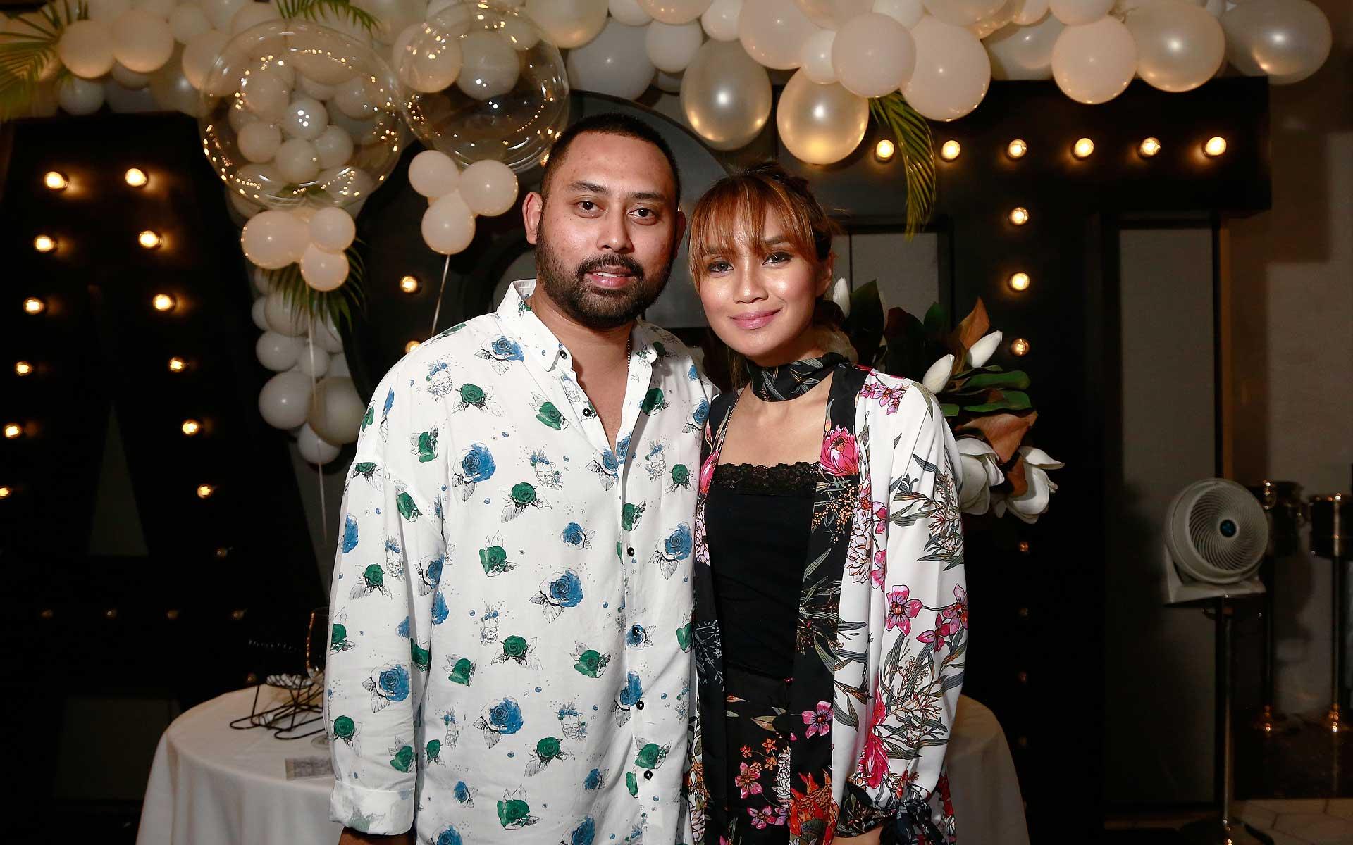 Erwan Azizi and Nik Azura