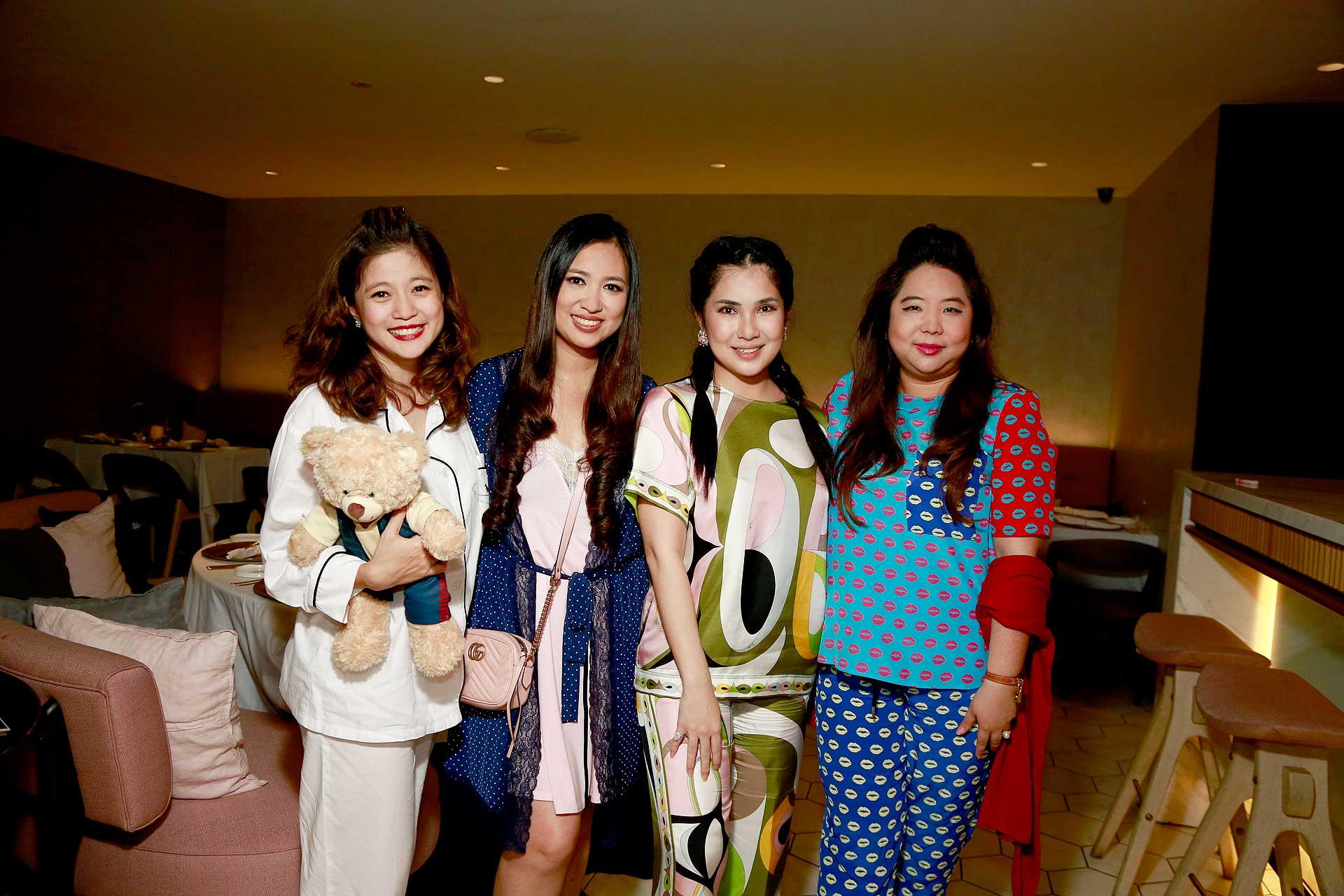 Mariam Teh, Datin Yvette Kang, Angela Karto and Yap Ai Leen