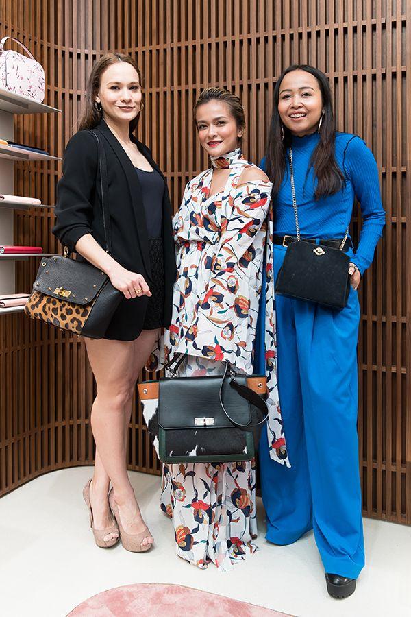 Aishah Sinclair, Sazzy Falak and Dahlia Nadirah