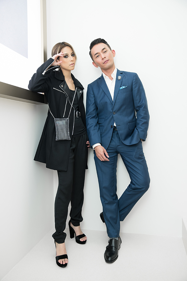 Sarah Intan and Andre Amir