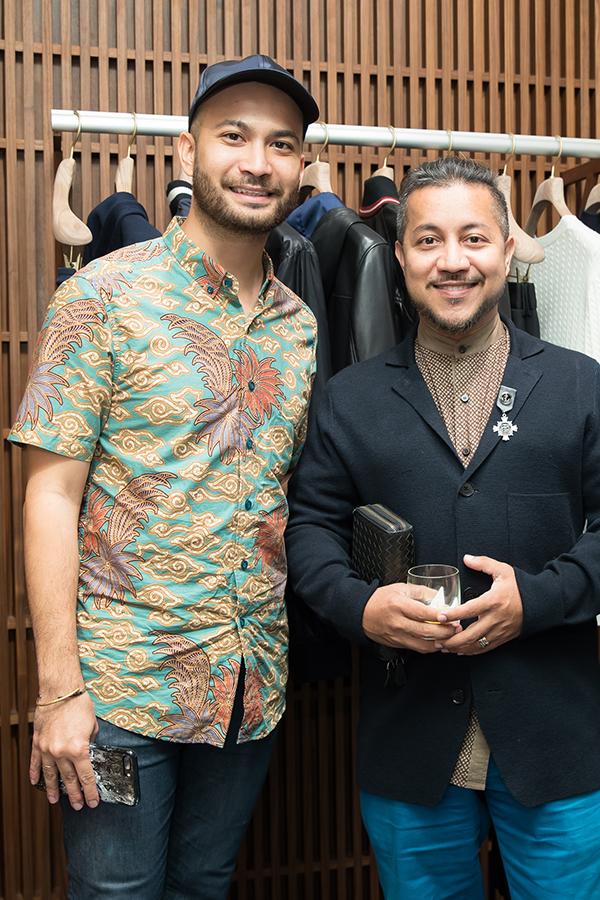Affendy Ali and Johan Nasir