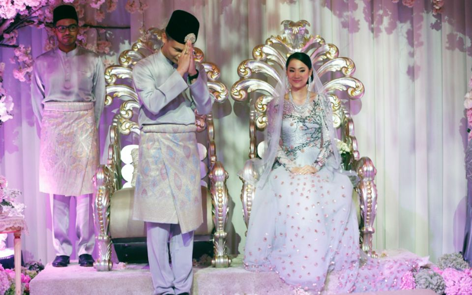 Muhammad Rahmat Geneid and Chika Tatsuzawa