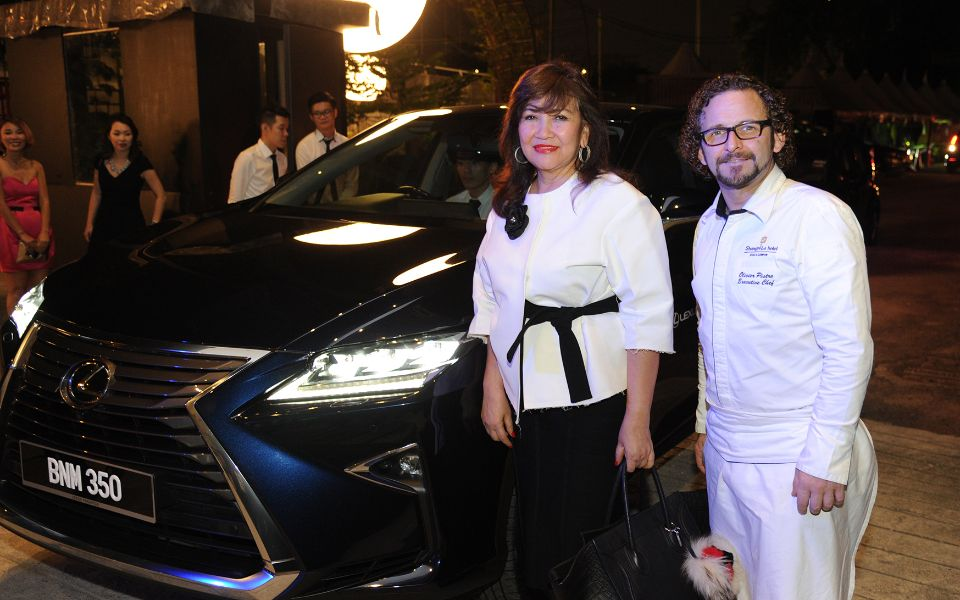 Dato' Rosemarie Wee and Chef Olivier Pistre