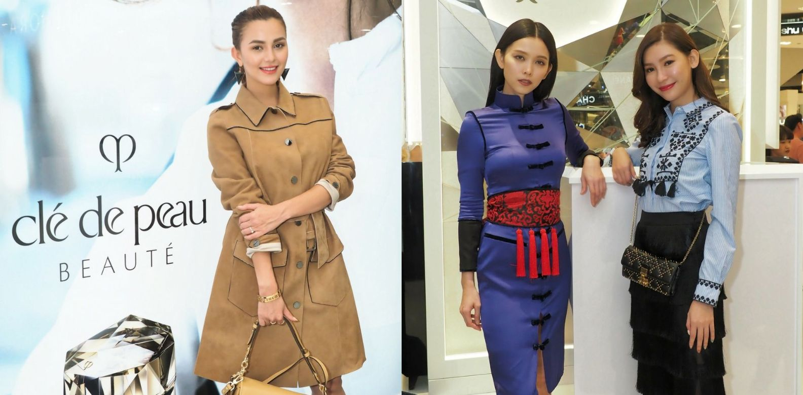 Guests like Juliana Evans, Natalia Ng and Anjoe Koh were in for an evening of laughter and beauty