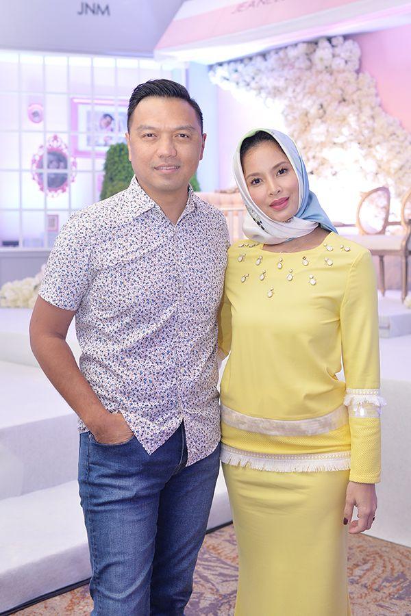 Azmi Abdul Rahman and Daphne Iking