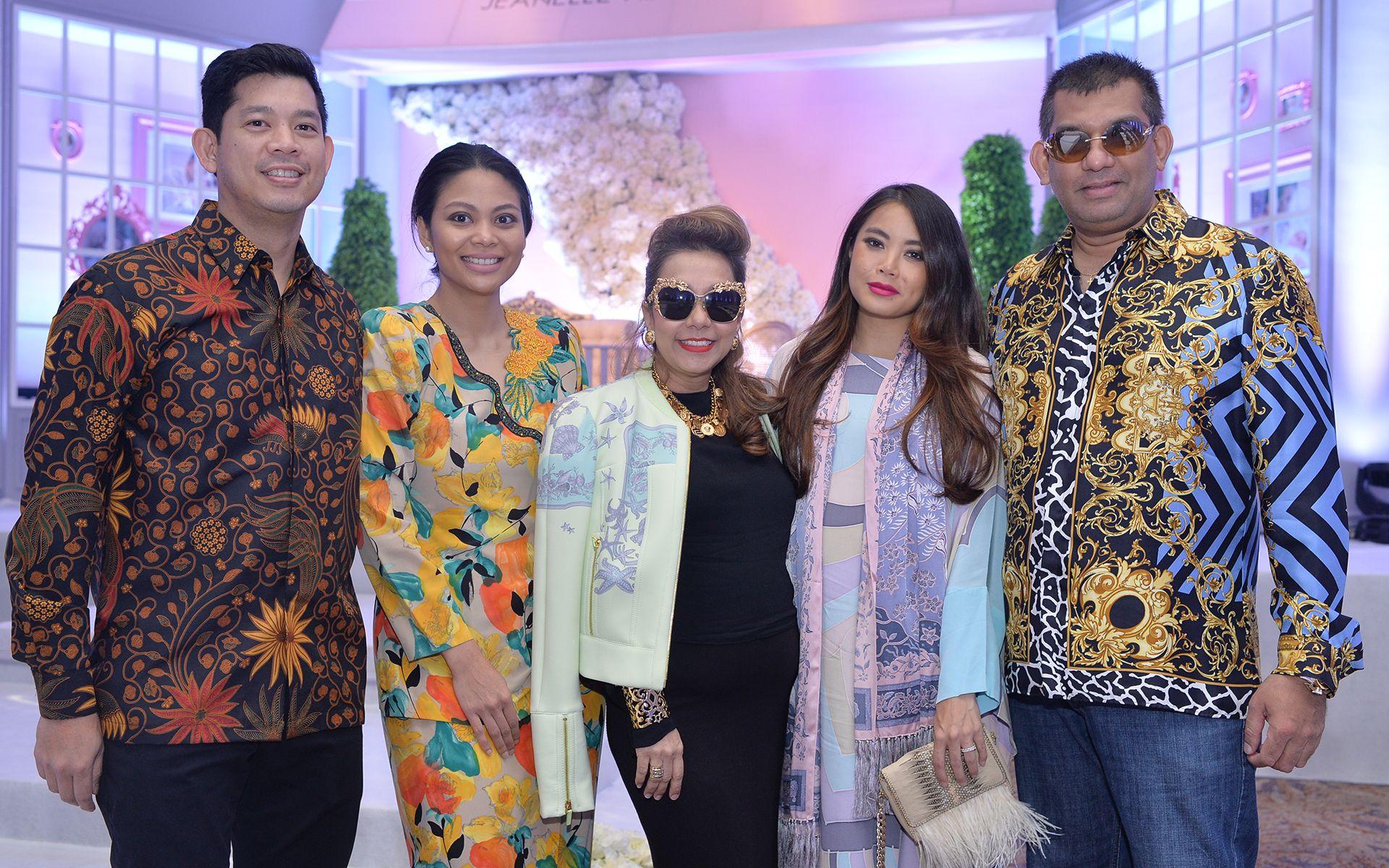 Shazlan Sufian, Zaireen Ayu Ibrahim,  Datin Sri Chris Abishegam, Ung Yiu Lin and Dato' Sri Andrew Abishegam